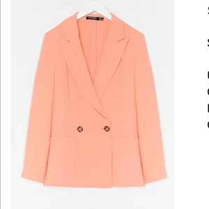 Suits You Tailored Double Breast Blazer